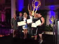 """Here's a better photo! Nominees. #emmyschoreo"" - August 30, 2015 Courtesy: KristynBurtt twitter"